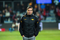 Jaguares head coach Gonzalo Quesada during the 2019 Super Rugby final between the Crusaders and Jaguares at Orangetheory Stadium in Christchurch, New Zealand on Saturday, 6 July 2019. Photo: Dave Lintott / lintottphoto.co.nz