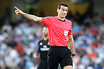 Spanish referee Martinez Munuera during La Liga match. August 21,2016. (ALTERPHOTOS/Acero)