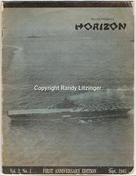 The Shangri-La HORIZON  -  First Anniversary Edition  -  Sept. 1945
