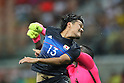 Shinzo Koroki (JPN), <br /> AUGUST 4, 2016 - Football / Soccer : <br /> Men's First Round Group B <br /> between Nigeria 5-4 Japan <br /> at Amazonia Arena <br /> during the Rio 2016 Olympic Games in Manaus, Brazil. <br /> (Photo by YUTAKA/AFLO SPORT)