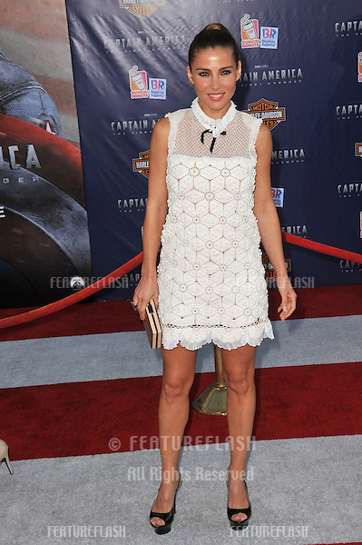 "Elsa Pataky at the premiere of ""Captain America: The First Avenger"" at the El Capitan Theatre, Hollywood..July 19, 2011  Los Angeles, CA.Picture: Paul Smith / Featureflash"