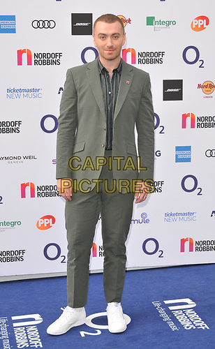 Sam Smith at the Nordoff Robbins O2 Silver Clef Awards 2019, JW Marriott Grosvenor House Hotel, Park Lane, London, England, UK, on Friday 05th July 2019.<br /> CAP/CAN<br /> ©CAN/Capital Pictures