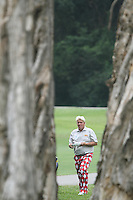 John Daly (USA) on the 9th during Round 2 of the UBS Hong Kong Open 2012, Hong Kong Golf Club, Fanling, Hong Kong. 16/11/12...(Photo Jenny Matthews/www.golffile.ie)