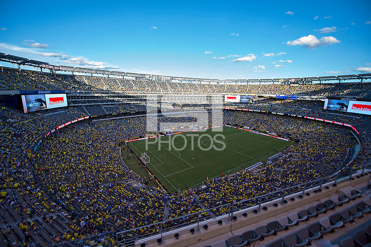 Action photo during the match Ecuador vs Haiti at MetLife Stadium Copa America Centenario 2016. ---Foto  de accion durante el partido Ecuador vs Haiti, En el Estadio MetLife Partido Correspondiante al Grupo - B -  de la Copa America Centenario USA 2016, en la foto: Vista General<br /> <br /> -- 12/06/2016/MEXSPORT/Javier Ramirez.