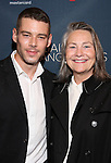 Brian J. Smith and Cherry Jones attend the Broadway Opening Night Performance of 'Les Liaisons Dangereuses'  at The Booth Theatre on October 30, 2016 in New York City.