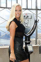 """June 06, 2012: Kendra Wilkinson-Baskett at the Empire State Building in New York City to promote her reality tv series """"Kendra on Top"""". © RW/MediaPunch Inc. ***NO GERMANY***NO AUSTRIA***"""