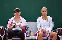31-05-13, Tennis, France, Paris, Roland Garros, Arantxa Rus and her dubbles partner Simona Halep