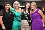 Susan Carolan with her bridesmaids, Lisa Carolan, Tracey Taaffe and Tanya Sherlock Carter at her Hen in Bru...Picture Jenny Matthews/Newsfile.ie