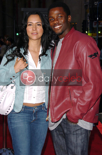 Sophia Luke and Derek Luke<br />