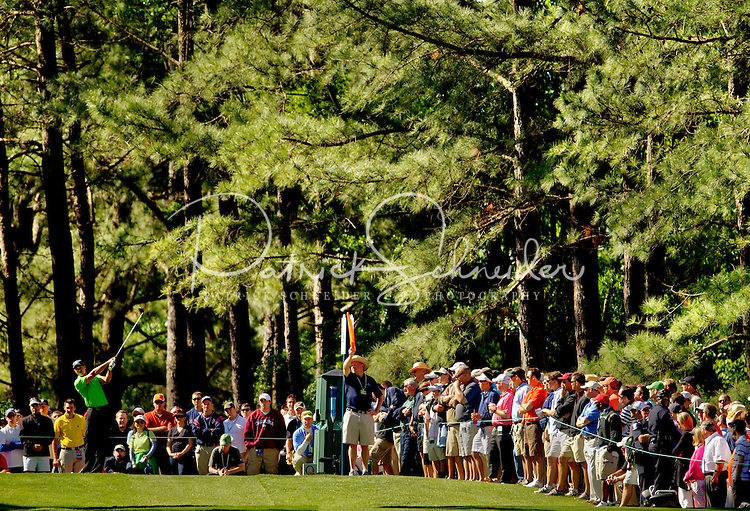 Tiger Woods during the first round of the Quail Hollow Championship at Quail Hollow Country Club on May 2, 2010 in Charlotte, North Carolina.  The event, formerly called the Wachovia Championship, is a top event on the PGA Tour, attracting such popular golf icons as Tiger Woods, Vijay Singh and Bubba Watson. Photo from the final round in the Quail Hollow Championship golf tournament at the Quail Hollow Club in Charlotte, N.C., Sunday , May 03, 2009..