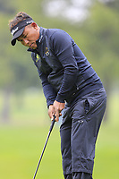 Thongchai Jaidee (THA) putts on the 1st green during Saturday's Round 3 of the 2017 Omega European Masters held at Golf Club Crans-Sur-Sierre, Crans Montana, Switzerland. 9th September 2017.<br /> Picture: Eoin Clarke | Golffile<br /> <br /> <br /> All photos usage must carry mandatory copyright credit (&copy; Golffile | Eoin Clarke)