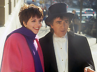 Liza Minnelli Dudley Moore<br /> Filming Arthur 1981<br /> Photo By John Barrett/PHOTOlink.net / MediaPunch