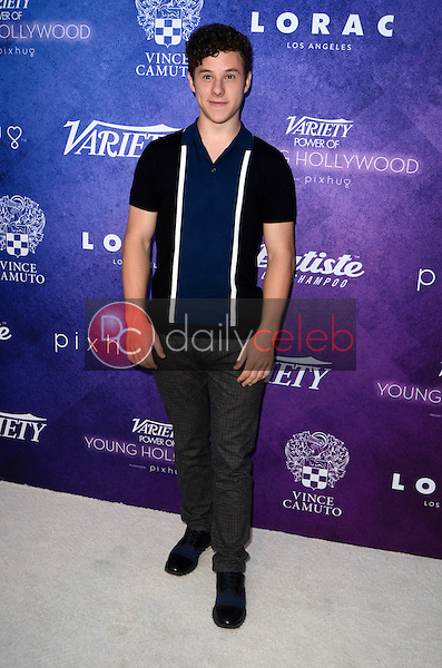 Nolan Gould<br /> at the Variety Power of Young Hollywood Event, Neuehouse, Hollywood, CA 08-16-16<br /> David Edwards/DailyCeleb.com 818-249-4998