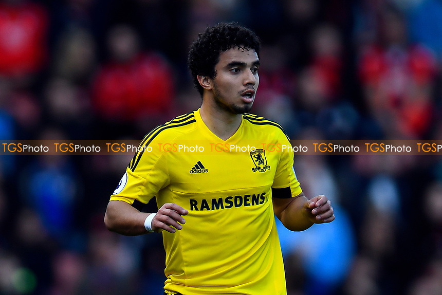Fabio of Middlesbrough during AFC Bournemouth vs Middlesbrough, Premier League Football at the Vitality Stadium on 22nd April 2017