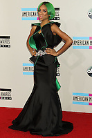 LOS ANGELES, CA - NOVEMBER 24: Lil Mama arriving at the 2013 American Music Awards held at Nokia Theatre L.A. Live on November 24, 2013 in Los Angeles, California. (Photo by Celebrity Monitor)