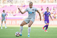 Orlando, FL - Sunday May 14, 2017: Lynn Williams during a regular season National Women's Soccer League (NWSL) match between the Orlando Pride and the North Carolina Courage at Orlando City Stadium.