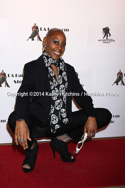 LOS ANGELES - MAR 31:  Debra Wilson at the LA Ballroom Studio Grand Opening at LA Dance Studio on March 31, 2014 in Sherman Oaks, CA