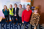 Members of Foodshare Kerry who won a national award for their work in helping local charities combat food poverty, pictured at their office in Tralee on Tuesday. Front l to r: Junior Locke and Courtney Sheehy. Back l to r: Rosaline O'Reilly, Brian McCannon, Rob Carey and Pat Hussey.