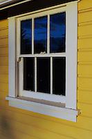 Lochiel Schoolhouse Window Built 1927 Campbell Valley Park, Langley B.C.