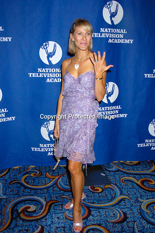 Kelley Hensley ..at the Daytime Emmy Creative Craft Awards on May 15, 2004 at the Marriott Marquis Hotel.                                        Photo by Robin Platzer, Twin Images