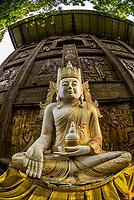 Gangaramaya Buddhist Temple,, Colombo, Sri Lanka.