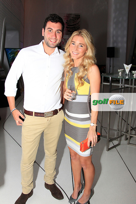 Flor during the 2015 Abu Dhabi Invitational Gala Evening held at The Viceroy Hotel, Yas Island, Abu Dhabi.: Picture Eoin Clarke, www.golffile.ie: 1/25/2015