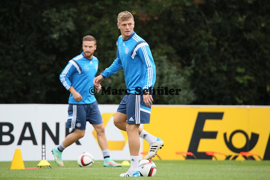 Toni Kroos - Training der Deutschen Nationalmannschaft in Frankfurt