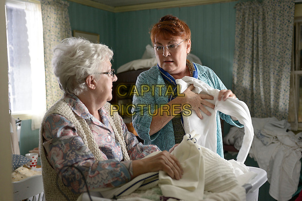 Margaret Killingbeck, Mary Walsh<br /> in The Grand Seduction (2013) <br /> *Filmstill - Editorial Use Only*<br /> CAP/FB<br /> Image supplied by Capital Pictures