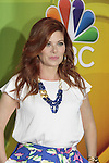Debra Messing - The Mysteries of Laura - NBC Upfront at Radio City, New York City, New York on May 11, 2015 (Photos by Sue Coflin/Max Photos)