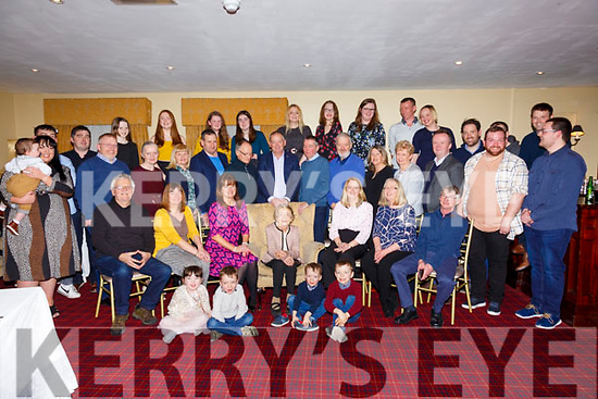 90th Birthday:Madge Kiely, Aughrim, Moyvane celebrating her 90th birthday with family & friends at the Listowel Arms Hotel on Saturday afternoon last.
