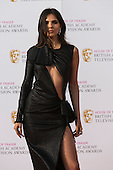 London, UK. 8 May 2016. Blogger Doina Ciobanu. Red carpet  celebrity arrivals for the House Of Fraser British Academy Television Awards at the Royal Festival Hall.