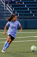 Rochester, NY - Saturday May 21, 2016: Sky Blue FC midfielder Taylor Lytle (6). The Western New York Flash defeated Sky Blue FC 5-2 during a regular season National Women's Soccer League (NWSL) match at Sahlen's Stadium.