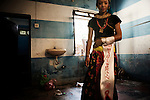 "Nepal 2008:  the first Transgender beauty contest of the new maoist republic of Nepal, .sponsored by the WORLD BANK and organised by blue diamond. .The contest will select the first ambassador for HIV / AIDS of Nepal..Swastika, 23 years from Kathmandu "" I will  the miss nepal 2008 "" she said.."