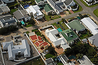 Housing development (aerial view), Hermanus, South Africa
