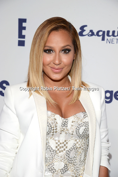 Adrienne Bailon attends the NBCUniversal Cable Entertainment Upfront <br /> on May 15, 2014 at The Javits Center North Hall in New York City, New York, USA.