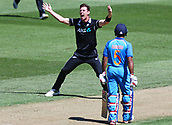3rd February 2019, Westpac Stadium, Wellington, New Zealand;5th ODI Cricket International  match, New Zealand versus India;  Black Caps Matt Henry