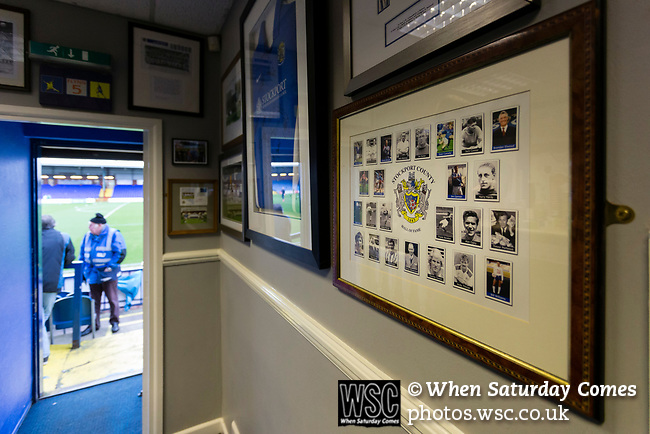The Legends Lounge at Edgeley Park. Stockport County v Barnet, 07032020. Edgeley Park, National League. Photo by Paul Thompson.