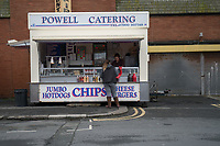 A catering unit outside Bloomfield Road, home of Blackpool <br /> <br /> Photographer Terry Donnelly/CameraSport<br /> <br /> The EFL Sky Bet League Two - Blackpool v Accrington Stanley - Friday 14th April 2017 - Bloomfield Road - Blackpool<br /> <br /> World Copyright &copy; 2017 CameraSport. All rights reserved. 43 Linden Ave. Countesthorpe. Leicester. England. LE8 5PG - Tel: +44 (0) 116 277 4147 - admin@camerasport.com - www.camerasport.com