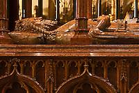 Europe/Voïvodie de Petite-Pologne/Cracovie:    la cathédrale du Wawel, Mausolée de Saint Stanislas, Saint Patron de la Pologne -  Monument de KazimierIII Wielki  roi de Pologne de 1333 à 1370- Vieille ville (Stare Miasto) classée Patrimoine Mondial de l'UNESCO,
