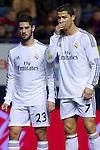 MADRID. ESPAÑA. FÚTBOL.<br /> Football match during La Copa del Rey (Spain);  04/01/2014.<br /> En la imagen :<br /> 7Cristiano Ronaldo (Real Madrid)<br /> 23Isco (Real Madrid)