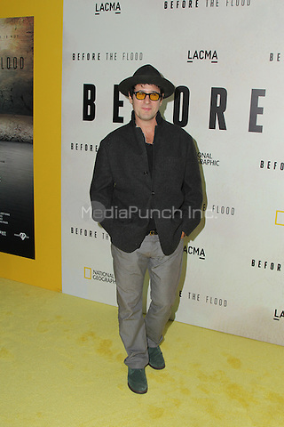 LOS ANGELES, CA - OCTOBER 24: Rob Morrow attends the Screening of National Geographic Channel's 'Before The Flood' at Bing Theater At LACMA on October 24, 2016 in Los Angeles, California. (Credit: Parisa Afsahi/MediaPunch).