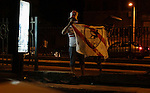 Fans of Zamalek football club celebrate winning the Egypt Cup after Egypt Cup final match against Al Ahli club in Borg El-Arab Stadium near Alexandria, Egypt, Aug 8,2016. Photo by Stringer