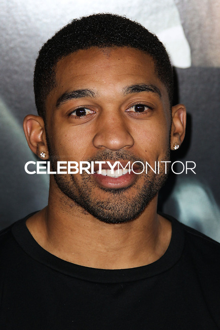 "WESTWOOD, CA, USA - FEBRUARY 24: Orlando Scandrick at the World Premiere Of Universal Pictures And Studiocanal's ""Non-Stop"" held at Regency Village Theatre on February 24, 2014 in Westwood, Los Angeles, California, United States. (Photo by Xavier Collin/Celebrity Monitor)"