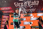 Cesare Benedetti (ITA) Bora-Hansgrohe wins Stage 12 of the 2019 Giro d'Italia, running 158km from Cuneo to Pinerolo, Italy. 23rd May 2019<br /> Picture: Massimo Paolone/LaPresse | Cyclefile<br /> <br /> All photos usage must carry mandatory copyright credit (© Cyclefile | Massimo Paolone/LaPresse)