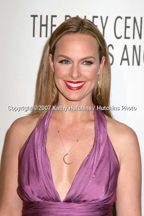Melora Hardin.Paley Center for Media Honors.Jeff Zucker & Dick Ebersol .Century Plaza Hotel.Century City, CA.November 12, 2007.©2007 Kathy Hutchins / Hutchins Photo...               .