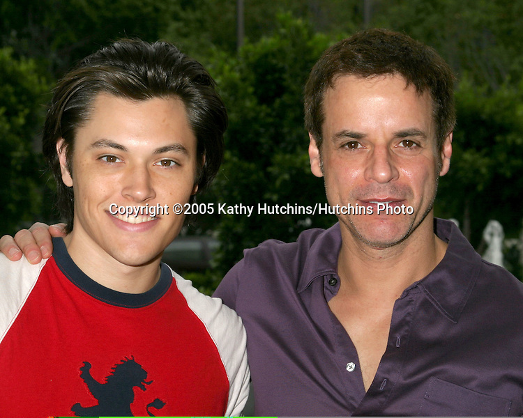 Blair Redford.Christian Le Blanc.Young and the Restlessl Fan Brunch.Sheraton Universal Hotel.Los Angeles, CA.August  14, 2005.©2005 Kathy Hutchins / Hutchins Photo