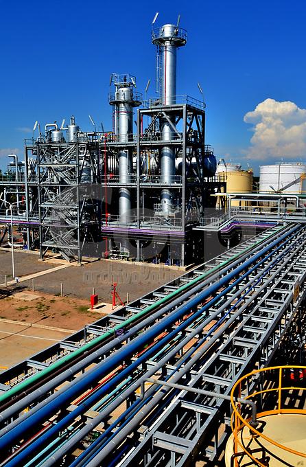 Planta de biodiesel de la empresa Cargill, Rosario, Argentina