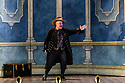 London, UK. 27.02.2018. English Touring Opera presents The Marriage of Figaro, by Wolfgang Amadeus Mozart, at the Hackney Empire, before touring.  This production is directed by Blanche McIntryre, conducted by Christopher Stark , with design by Neil Irish and lighting design by Rory Beaton. The cast is:Ross Ramgobin (Figaro), Abigail Kelly (Susanna), Dawid Kimberg (Count Almaviva), Nadine Benjamin (Countess Almaviva), Katherine Aitkin (Cherubino), Omar Ebrahim (Bartolo), Gaynor Keeble (Marcellina), Galina Averina (Barbarina), Devon Harrison (Antonio), John-Colyn Gyeantey (Basilio), Stuart Haycock (Don Curzio). Photograph © Jane Hobson.