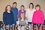 Independent candidate Dr Bridget O'Brien with her staff at the Carlton hotel, Tralee on Saturday seated Dr Bridget O'Brien. Back l-r: Mary Burke, Padraig Clifford, Joanne O'Regan, Eleanor Trent and Kathleen Burke.