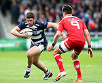 Marc Jones of Sale Sharks - European Rugby Champions Cup - Sale Sharks vs Munster -  AJ Bell Stadium - Salford- England - 18th October 2014  - Picture Simon Bellis/Sportimage